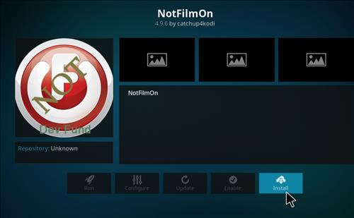 How to Install NotFilmOn Kodi Add-on with Screenshots step 18