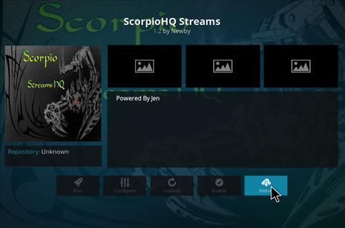 How to Install Scorpio HQ Streams Kodi Add-on with Screenshots step 18