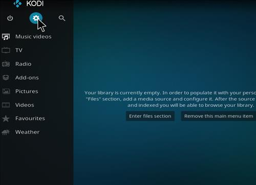 How to Install Sparkle Kodi Add-on with Screenshots step 1