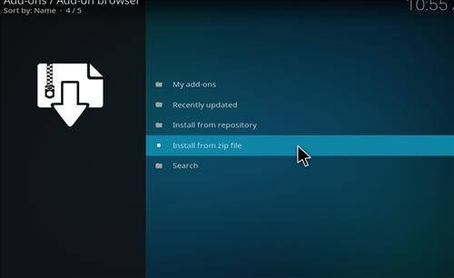 How to Install Sparkle Kodi Add-on with Screenshots step 10