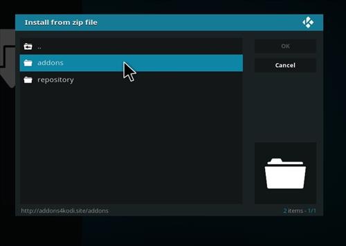 How to Install Sparkle Kodi Add-on with Screenshots step 12