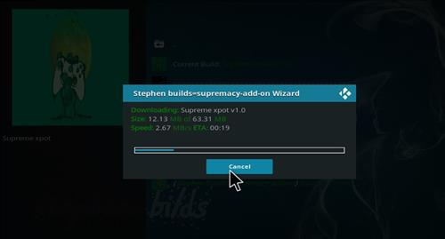 How to Install Supreme Xpot Build Kodi 18.0 Leia step 20