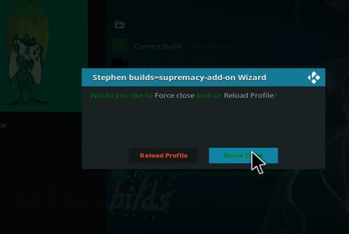How to Install Supreme Xpot Build Kodi 18.0 Leia step 21