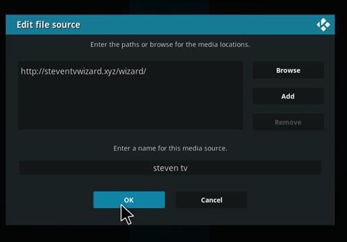 How to Install The Artsy Media Build For Kodi 18.0 Leia step 7