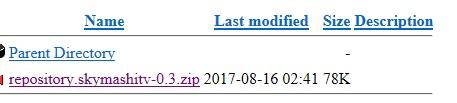 Manual and download skymashi tv repo step 2