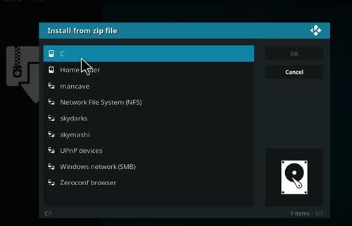 Manual and download skymashi tv repo step 4
