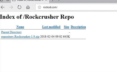 manual and download rocckcrusher step 1