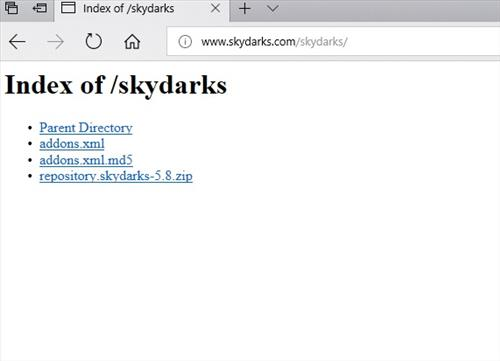 manual and download skydarks repo step 1