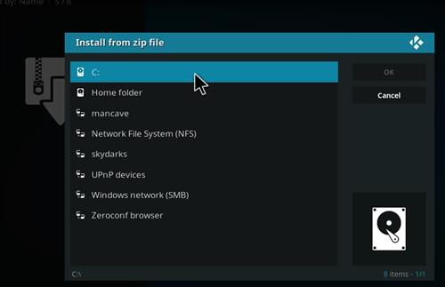 manual and download skydarks repo step 4