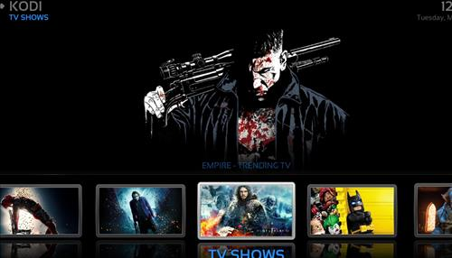 Best Kodi Builds List April2018 khaos build pic 2