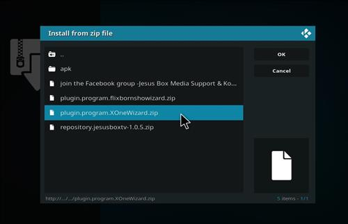 How to Install 4K Colors lite Kodi Build leia18 step 12