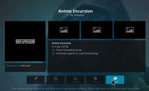 How to Install Anime Incursion Kodi Add-on with Screenshots step 19