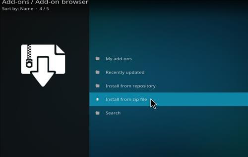 How to Install BK Nox Kodi Build with Screenshots step 10