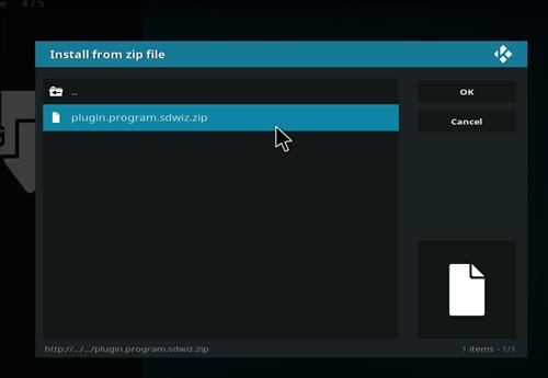 How to Install BK Nox Kodi Build with Screenshots step 12