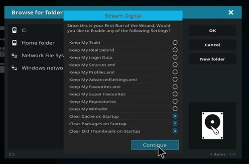 How to Install BK Nox Kodi Build with Screenshots step 15