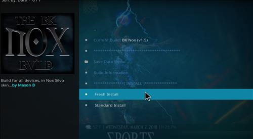 How to Install BK Nox Kodi Build with Screenshots step 18