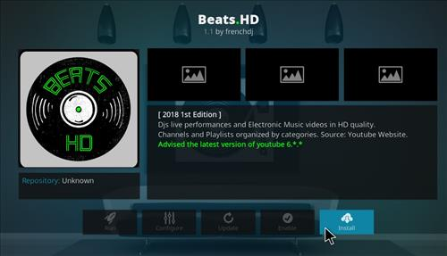 How to Install Beats.HD Kodi Add-on with Screenshots step 18