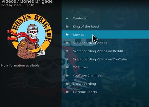 How to Install Bones Brigade Kodi Add-on with Screenshots pic 2