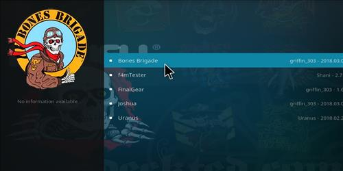 How to Install Bones Brigade Kodi Add-on with Screenshots step 17