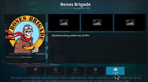 How to Install Bones Brigade Kodi Add-on with Screenshots step 18