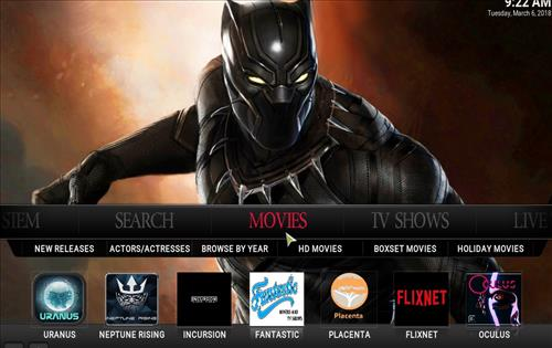How to Install Fury X Kodi build with Screenshots pic 2