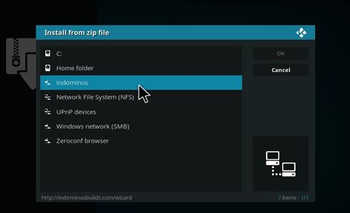 How to Install Fury X Kodi build with Screenshots step 11