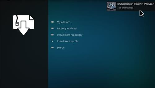 How to Install Fury X Kodi build with Screenshots step 13