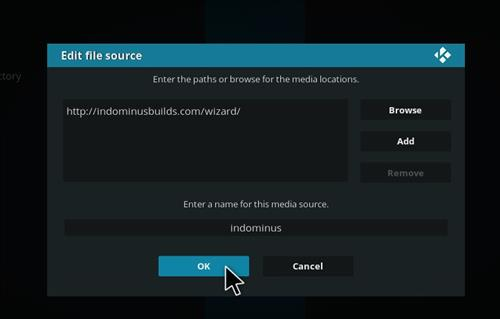 How to Install Fury X Kodi build with Screenshots step 7