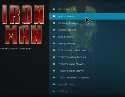 How to Install Iron Man Kodi Add-on with Screenshots pic 2