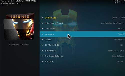 How to Install Iron Man Kodi Add-on with Screenshots step 17
