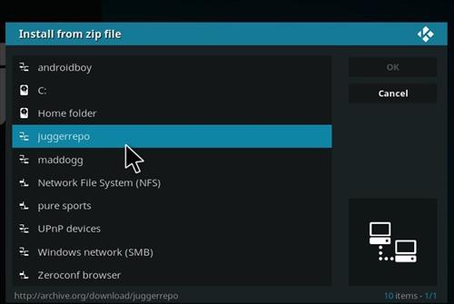 How to Install Juggernaut Kodi Add-on with Screenshots step 11