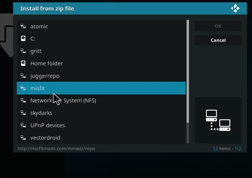 How to Install Khaos Kodi Build with Screenshots step 11