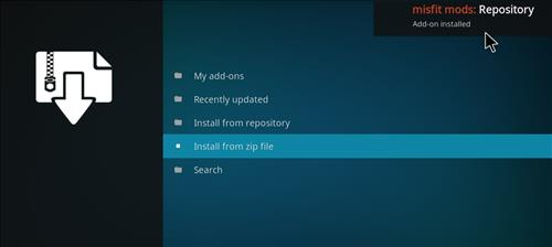 How to Install Khaos Kodi Build with Screenshots step 13