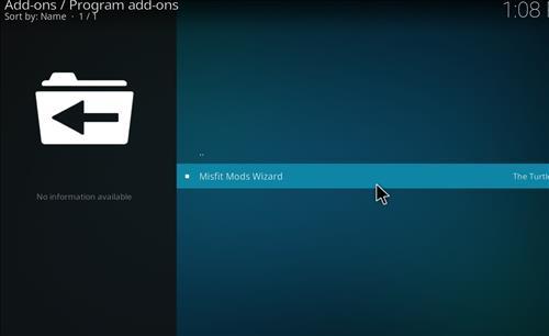 How to Install Khaos Kodi Build with Screenshots step 17