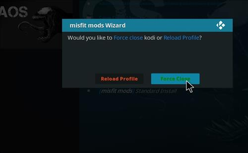 How to Install Khaos Kodi Build with Screenshots step 27