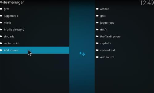 How to Install Khaos Kodi Build with Screenshots step 3