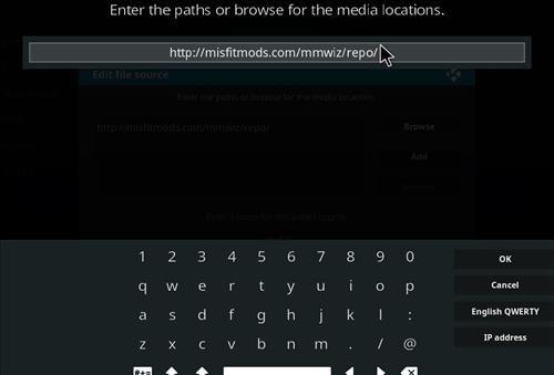 How to Install Khaos Kodi Build with Screenshots step 5