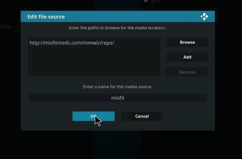 How to Install Khaos Kodi Build with Screenshots step 7