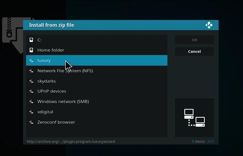 How to Install Kodi World Build with Screenshots step 11