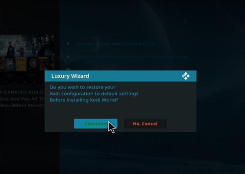 How to Install Kodi World Build with Screenshots step 18
