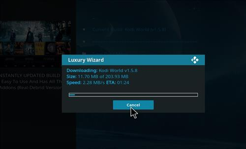 How to Install Kodi World Build with Screenshots step 19