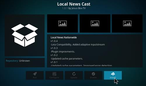 How to Install Local News Cast Kodi Add-on with Screenshots step 18