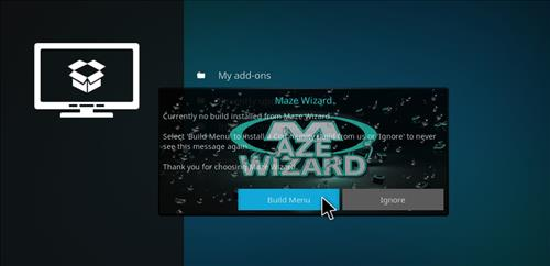 How to Install Maze Kodi Build with Screenshots step 17