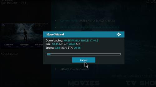 How to Install Maze Kodi Build with Screenshots step 21