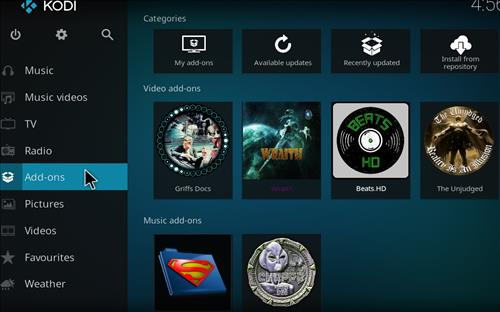 How to Install Maze Kodi Build with Screenshots step 8