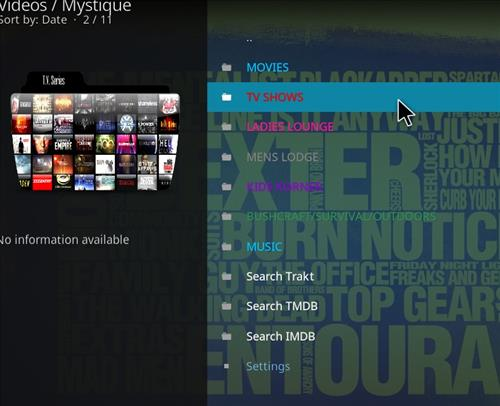 How to Install Mystique Kodi Add-on with Screenshots pic 2