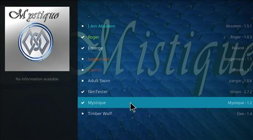 How to Install Mystique Kodi Add-on with Screenshots step 17