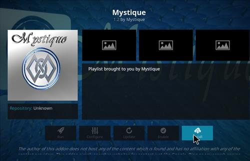 How to Install Mystique Kodi Add-on with Screenshots step 18