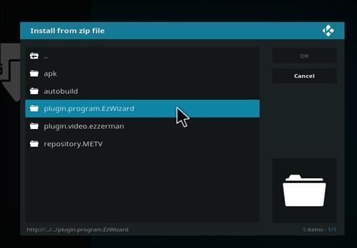 How to Install Nymeria Kodi Build with Screenshots step 12