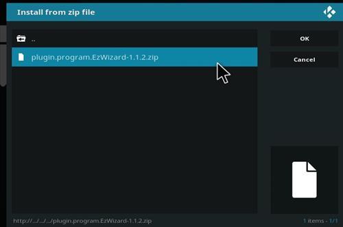 How to Install Nymeria Kodi Build with Screenshots step 13